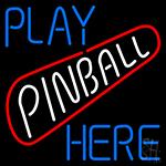 Play Pinball Herw LED Neon Sign