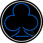 Poker Icon 2 Neon Sign