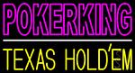 Poker King 3 LED Neon Sign
