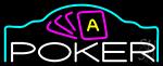 Poker King 6 Neon Sign