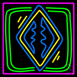 Poker Redand Icon 1 Neon Sign
