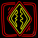 Poker Redand Icon Neon Sign