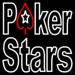 Pokers Stars Neon Sign