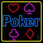 Poker Symbol 1 Neon Sign