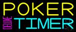 Poker Timer Deluxe 1 Neon Sign