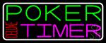 Poker Timer Deluxe 2 Neon Sign