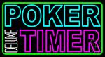 Poker Timer Deluxe 3 Neon Sign