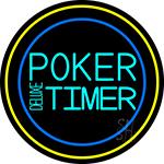 Poker Timer Deluxe Neon Sign