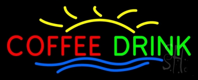 Coffee Drink LED Neon Sign