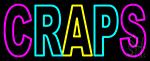 Craps 1 Neon Sign