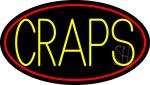 Craps 3 Neon Sign