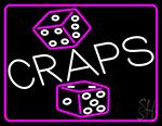 Dice Craps 2 Neon Sign