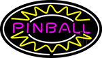 Pinball 3 Neon Sign