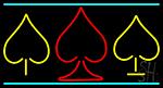 Poker Symbol 2 Neon Sign