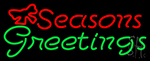 Seasons Greetings LED Neon Sign