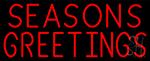 Seasons Greeting LED Neon Sign