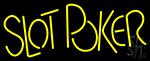 Slot Poker Neon Sign