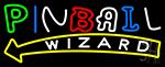 Stylish Pinball Wizard 1 LED Neon Sign