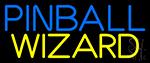 Stylish Pinball Wizard 2 LED Neon Sign