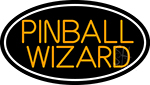 Stylish Pinball Wizard 3 Neon Sign