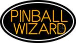 Stylish Pinball Wizard 3 LED Neon Sign
