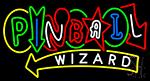 Stylish Pinball Wizard Neon Sign