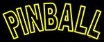 Tourquoise Pinball 1 Neon Sign