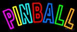 Tourquoise Pinball 2 Neon Sign
