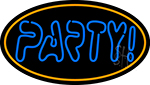 Double Stroke Party 2 Neon Sign