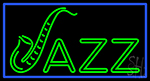 Jazz With Border 1 Neon Sign