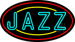 Jazz With Border 2 Neon Sign