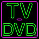 Tv Dvd 2 Neon Sign
