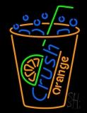 Crush Orange Soda LED Neon Sign