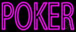 Vertical Poker 2 Neon Sign
