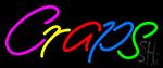 Craps 2 Neon Sign