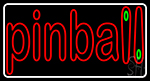 Double Stroke Pinball 1 LED Neon Sign