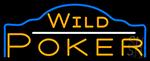Wild Poker 3 Neon Sign