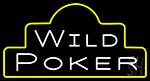 Wild Poker Neon Sign