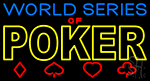 World Series Of Poker 1 Neon Sign
