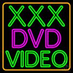 Xxx Dvd Video 1 Neon Sign