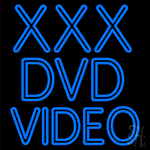 Xxx Dvd Video LED Neon Sign