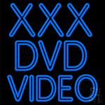 Xxx Dvd Video Neon Sign