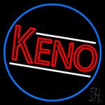 Keno Border 1 Neon Sign