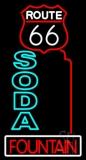 Double Stroke Soda Fountain LED Neon Sign