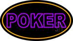 Poker 1 Neon Sign