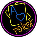 Poker 2 Neon Sign
