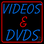 Videos And Dvds 1 Neon Sign