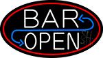 Bar Reverse Open LED Neon Sign