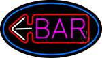 Bar With Arrow LED Neon Sign