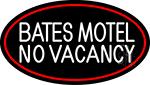 Bates Motel No Vacancy LED Neon Sign